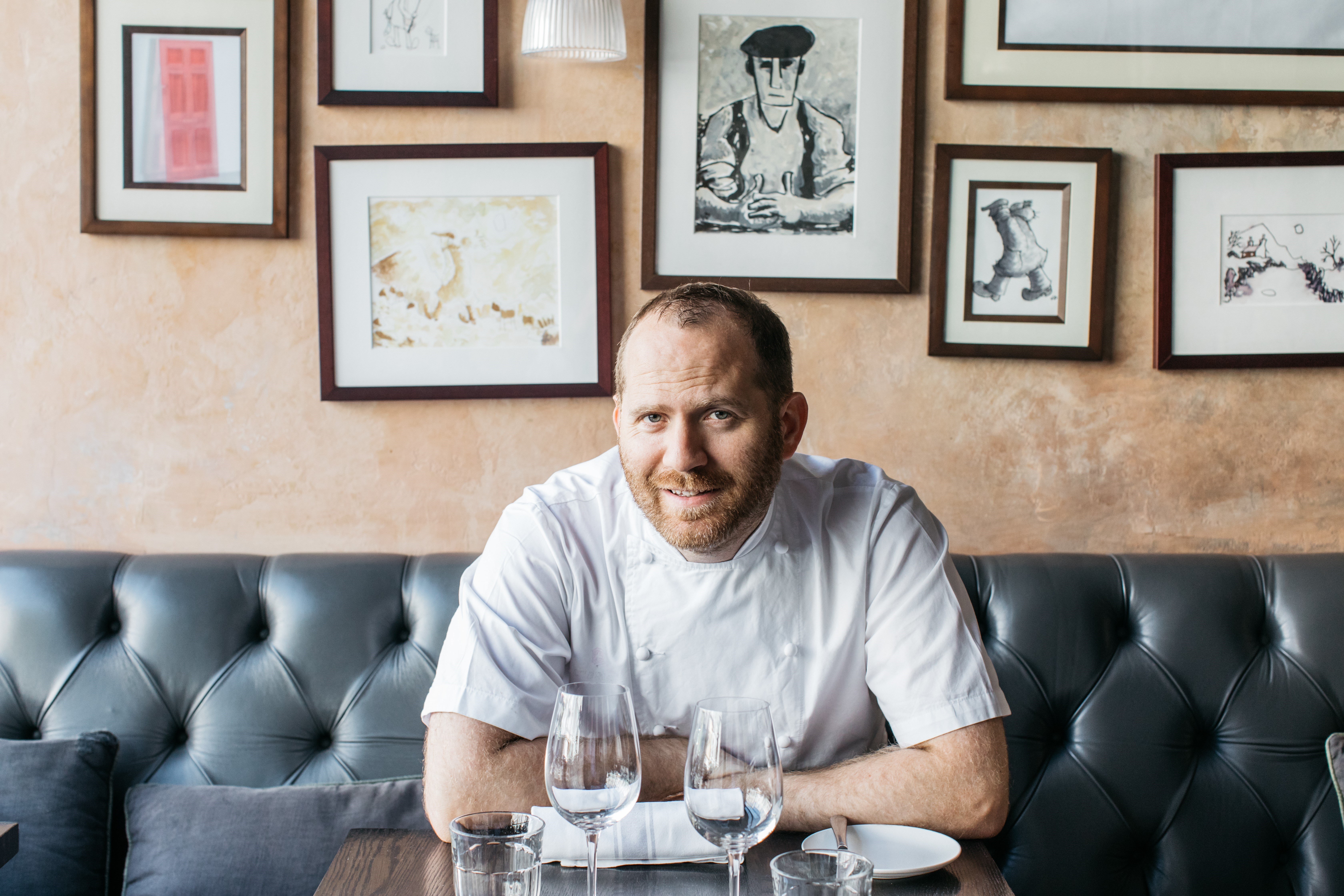 Bryn Williams Payne & Gunter chef partnership